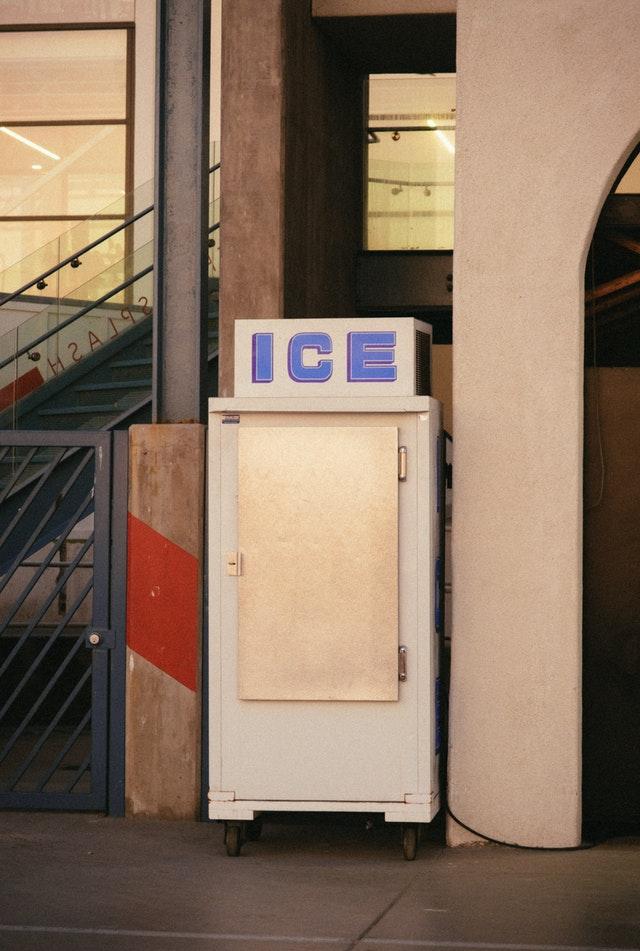 Old Ice Bin